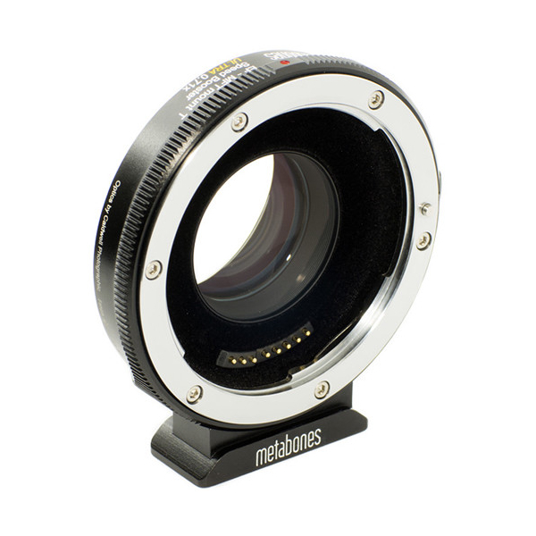 photo Metabones Convertisseur T Speed Booster Ultra 0.71x Micro 4/3 pour objectifs Canon EF/EF-S