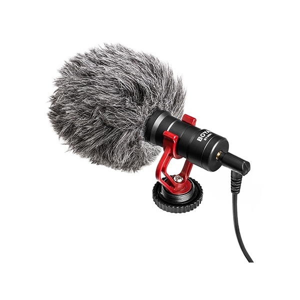 photo Boya Microphone de reportage ultra-compact - BY-MM1