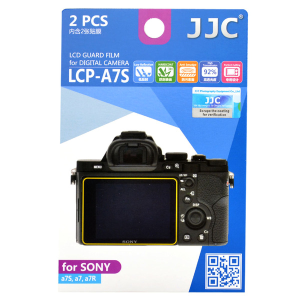 photo JJC Lot de 2 films de protection pour Sony A7 / A7R / A7s