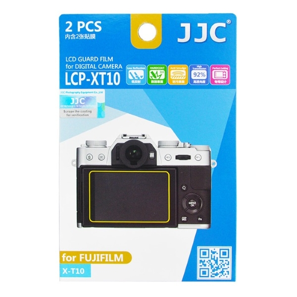 photo JJC Lot de 2 films de protection pour Fujifilm X-T10 / X-T20 / X-T30 / X-E3