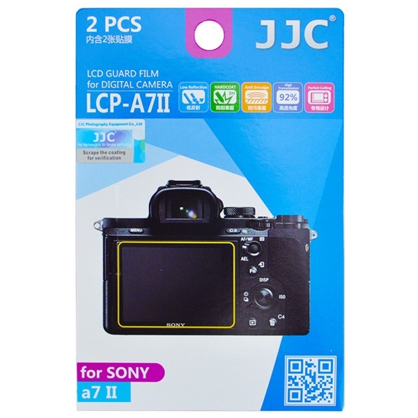 photo JJC Lot de 2 films de protection pour Sony Alpha 7 II / 7 III / 9