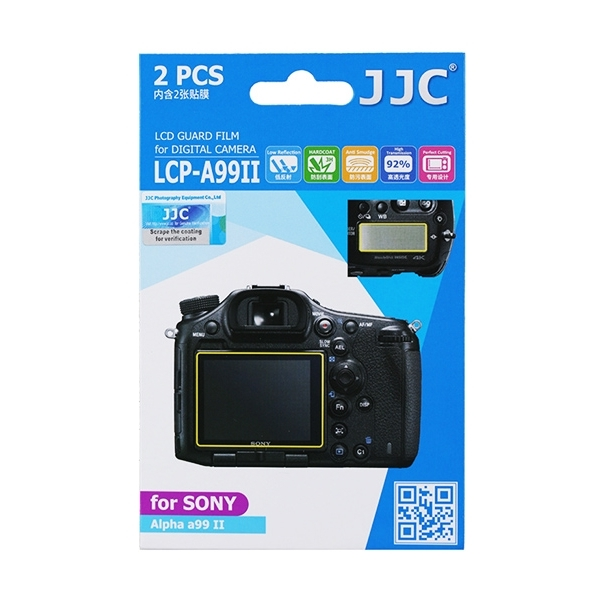 photo JJC Lot de 2 films de protection pour Sony Alpha 99 II