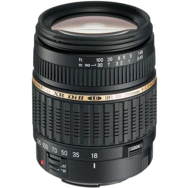photo Tamron 18-200mm f/3.5-6.3 Di II Macro Monture Sony A