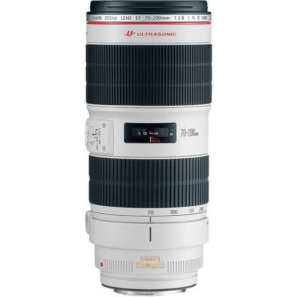 photo Canon 70-200mm f/2.8 L IS USM II