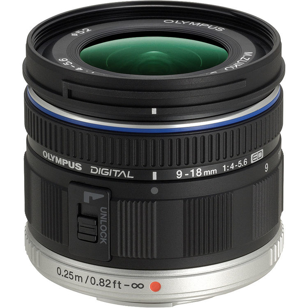 photo Olympus 9-18mm f/4-5.6 Monture Micro 4/3 (MFT)