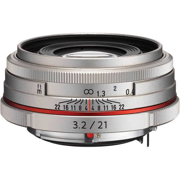 photo Pentax 21mm f/3.2 SP HD AL Limited DA Argent