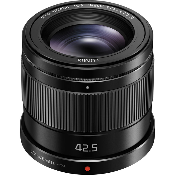 photo Panasonic 42.5mm f/1.7 Asph Power OIS Noir Monture Micro 4/3 (MFT)