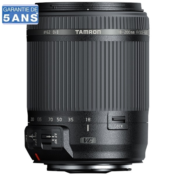 photo Tamron 18-200mm f/3.5-6.3 Di II Monture Sony A