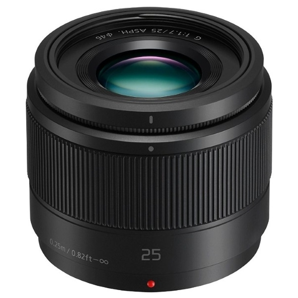 photo Panasonic 25mm f/1.7 Asph Noir pour Micro 4/3 (MFT)