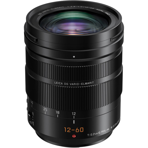 photo Panasonic 12-60mm f/2.8-4 Asph Power OIS Leica DG Vario-Elmarit Monture Micro 4/3 (MFT)