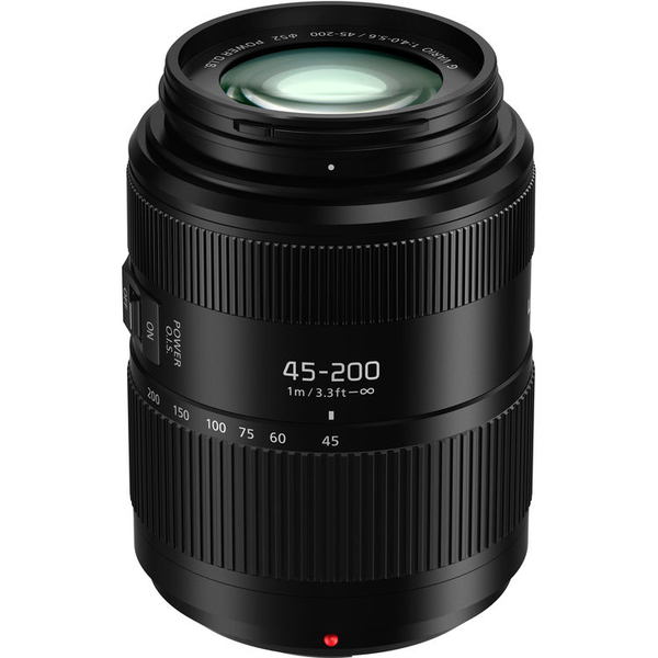 photo Panasonic 45-200mm f/4-5.6 G Vario Power OIS II Monture Micro 4/3 (MFT)