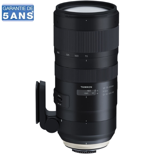 photo Tamron 70-200mm f/2.8 SP Di VC USD G2 Monture Nikon