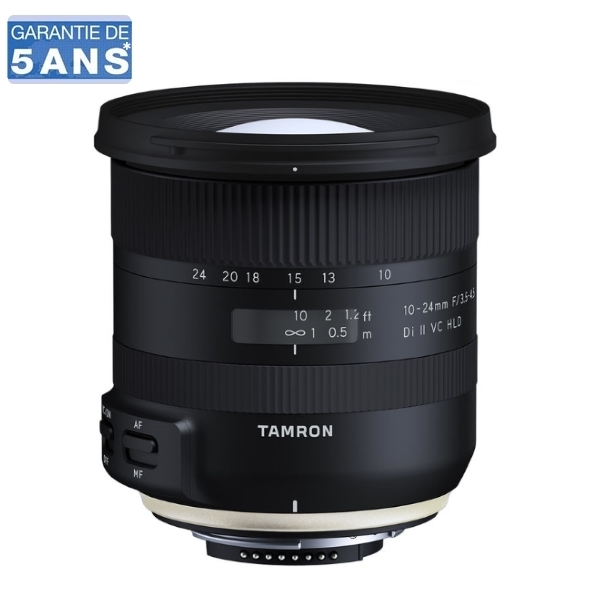 photo Tamron 10-24mm f/3.5-4.5 Di II VC HLD Monture Canon