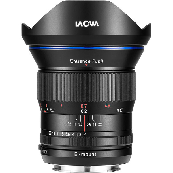 photo Laowa 15mm f/2 Zero-D Monture Sony FE