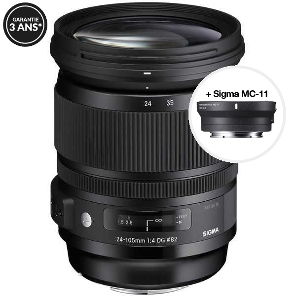 photo Sigma 24-105mm F/4 DG OS HSM Art Monture Sony FE