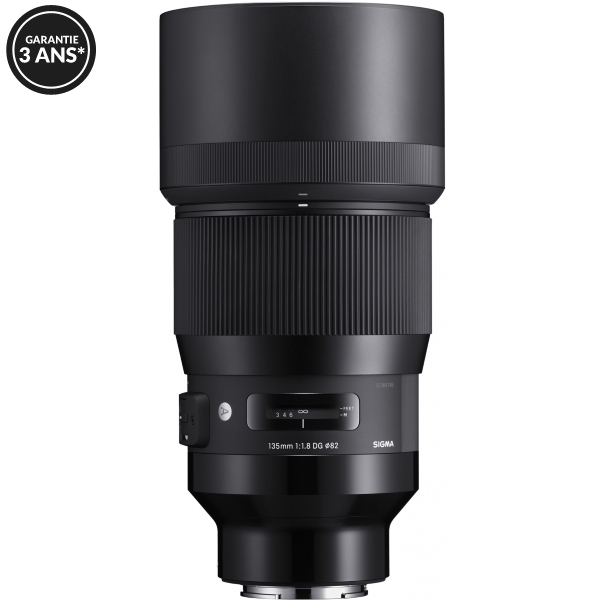photo Sigma 135mm f/1.8 DG HSM Art Monture Sony FE