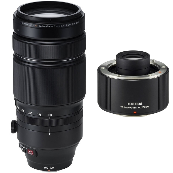 photo Fujifilm 100-400mm f/4.5-5.6 R LM OIS WR + Téléconvertisseur 2x TC WR