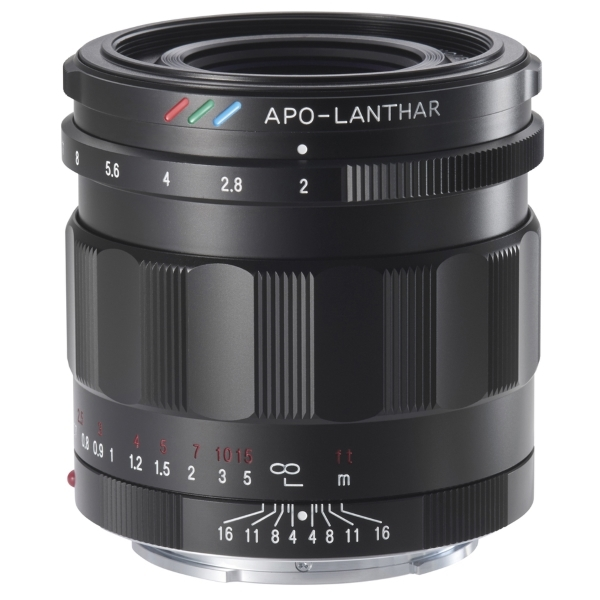 photo Voigtländer 50mm f/2 Apo-Lanthar Monture Sony FE