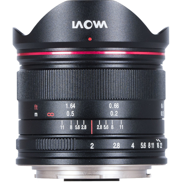 photo Laowa 7.5mm f/2 Lightweight Noir pour Micro 4/3 (MFT)