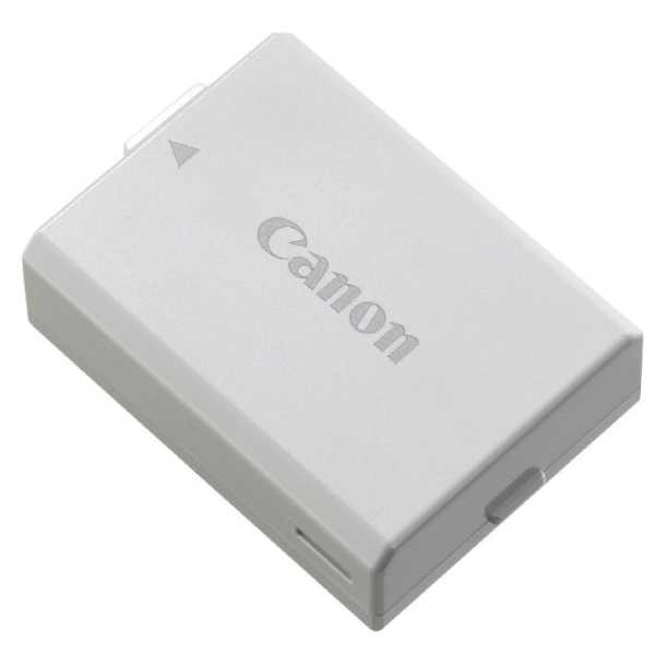 photo Canon Batterie LP-E5 pour EOS 450D / 500D / 1000D (batterie d'origine)