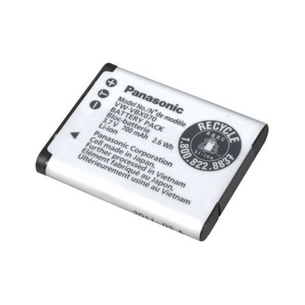 photo Panasonic Batterie VW-VBX070