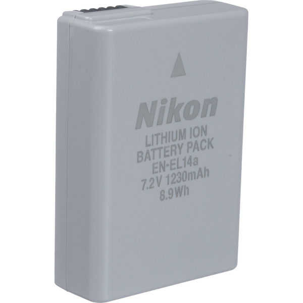 photo Nikon Batterie EN-EL14a (batterie d'origine)