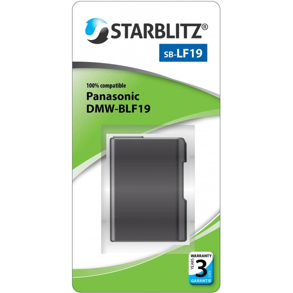 photo Starblitz Batterie Starblitz équivalente Panasonic DMW-BLF19
