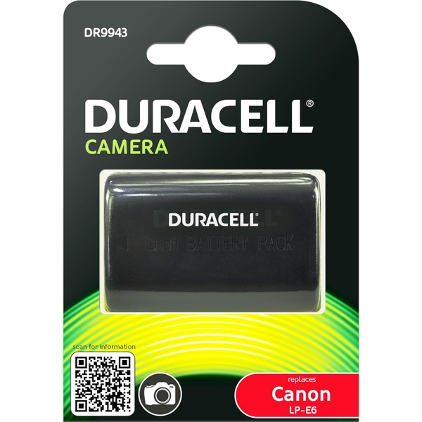 photo Duracell Batterie Duracell équivalente Canon LP-E6 / LP-E6N