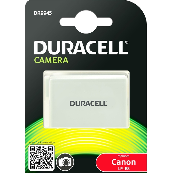 photo Duracell Batterie Duracell équivalente Canon LP-E8