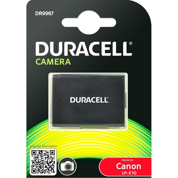 photo Duracell Batterie Duracell équivalente Canon LP-E10