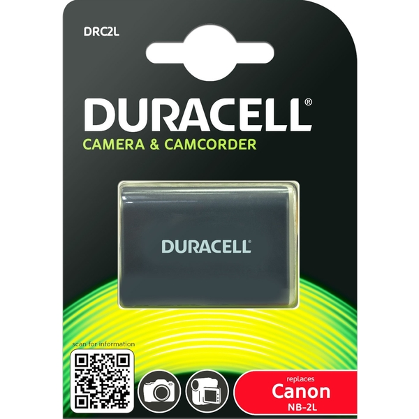 photo Duracell Batterie Duracell équivalente Canon NB-2L/NB-2LH