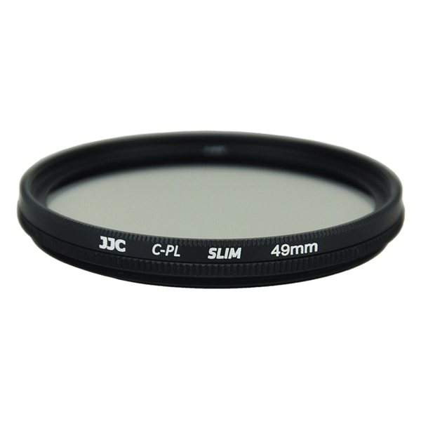 photo JJC Filtre polarisant circulaire Slim 49mm