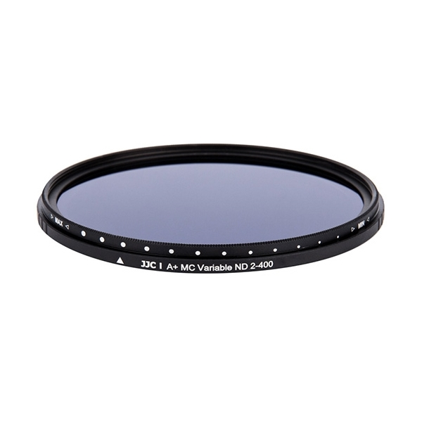 photo JJC Filtre ND variable ND2-400 Slim 58mm