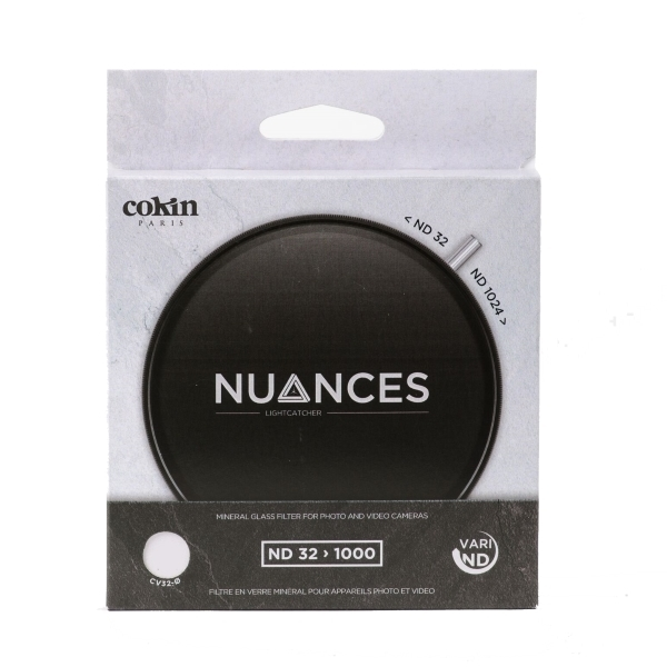 photo Cokin Filtre Nuances ND-X variable ND32-1024 67mm