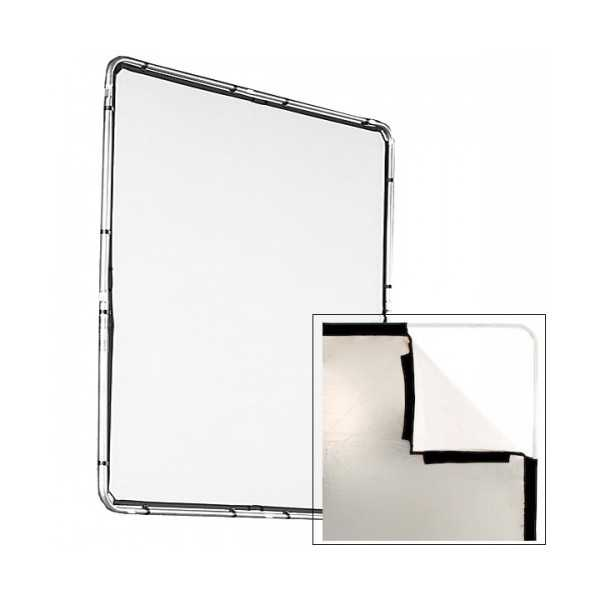 photo Lastolite by Manfrotto Toile Skylite argent / blanc 2x2m - LAS82231R