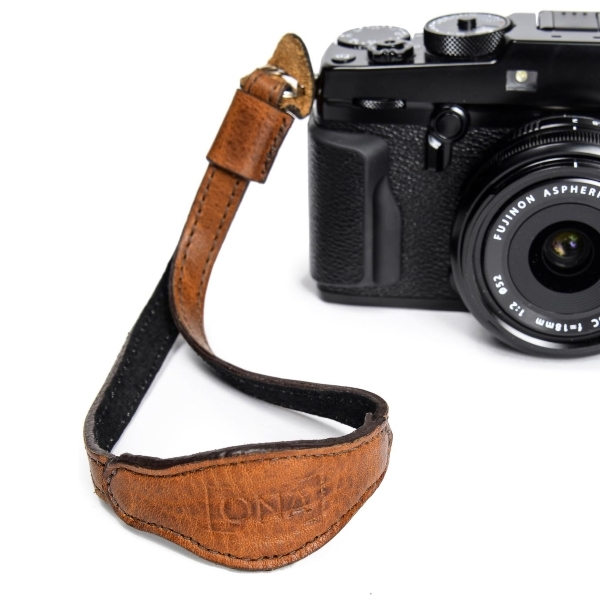 photo ONA Sangle Kyoto - Antique Cognac Leather